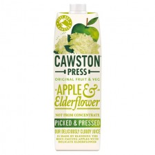 Cawston Press Apple and Elderflower Juice 1L