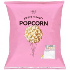 Marks and Spencer Sweet and Salty Popcorn 80g