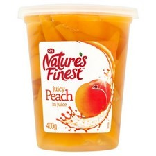 Natures Finest Peach Slices in Juice 400g