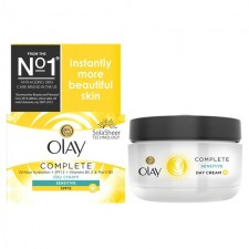 Olay Essentials Complete Care Moisturiser UV Cream Sensitive SPF 15 50ml