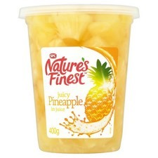 Natures Finest Pineapple Chunks in Juice 400g