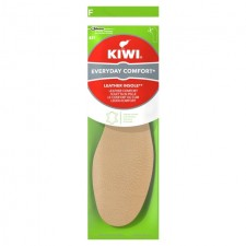 Kiwi Comfort Leather Insole 1 Pair Size 3-12