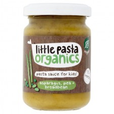 Little Pasta Organics Free From Asparagus Pea and Broad Bean Pasta Sauce 130g 10 Months