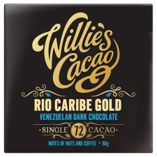 Willies Cacao Rio Caribe Gold 72% Dark Chocolate Venezuelan 80g