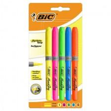 Bic Brite Liner Highlighter Set 5 pack