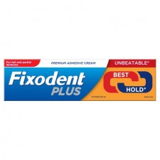 Fixodent Plus Adhesive Cream Dual Power 40g