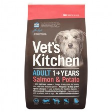Vets Kitchen Adult Dog Salmon And Potato 7.5kg