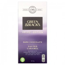 Green and Blacks Velvet Edition Dark Salted Caramel Chocolate 90G