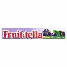 Retail Size Fruit-Tella Blackcurrant 40 x 41g