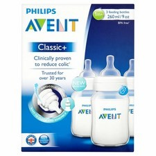 Avent Bottle Classic 260Ml 3S