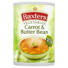 Baxters Vegetarian Carrot and Butterbean Soup 400g