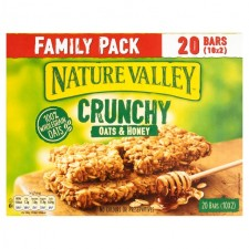 Nature Valley Crunchy Oats and Honey 20 Bars