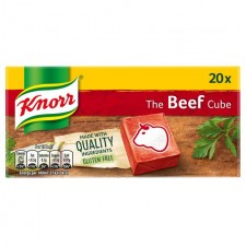 Knorr 20 Beef Stock Cubes