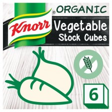Knorr Organic Vegetable Stock Cubes 6 x 11g