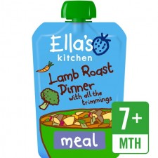 Ellas Kitchen Lamb Roast Dinner with All the Trimmings 130g 7 Months