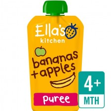 Ellas Kitchen Organic Apples and Bananas 120g 4 Months