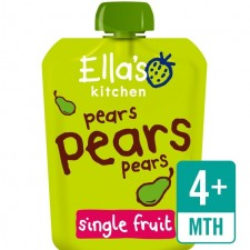 Ellas Kitchen Organic Smooth Pear Puree 70g 4 Months
