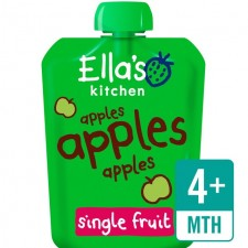 Ellas Kitchen Organic Smooth Apple Puree 70g 4 Months