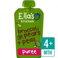 Ellas Kitchen Organic Broccoli Pears and Peas 120g 4 Months