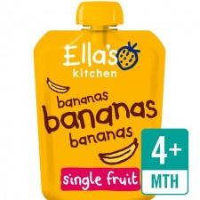 Ellas Kitchen Organic Smooth Banana Puree 70g 4 Month