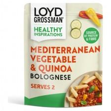 Loyd Grossman Meat Free Bolognese Mediterranean Vegetable and Quinoa 275g