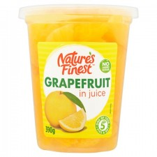 Natures Finest Grapefruit In Juice 390g