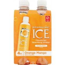 Sparkling Ice Orange Mango 4 x 400ml