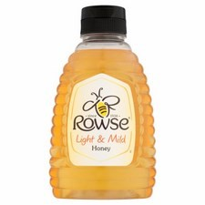 Rowse Light and Mild Squeezy Honey 340g