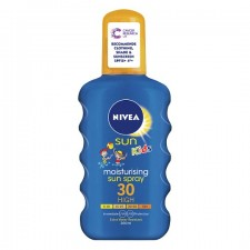 Nivea Childrens Coloured Sun Spray SPF50 200ml