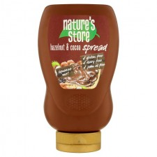 Natures Store Gluten Free Squeezy Chocolate and Hazelnut Spread 300g