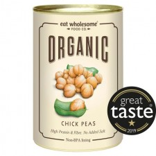 Eat Wholesome Organic Chickpeas 400g