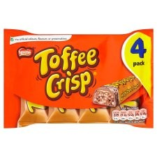 Nestle Toffee Crisp 4 Pack