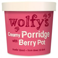 Wolfys Creamy Porridge Pot with Berry 100g
