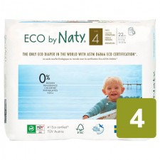 Naty Eco Nappies Size 4 x 22 per pack