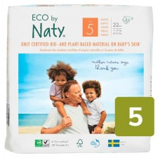 Naty Eco Nappies Size 5 X 22 per pack