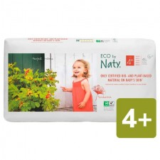 Naty Eco Nappies Size 4plus x 42 per pack