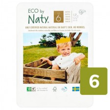 Naty Eco Nappies Size 6 X 17 per pack