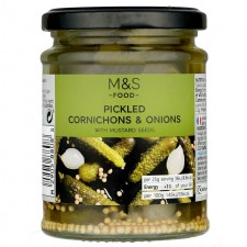 Marks and Spencer Pickled Cornichons and Onions 285g