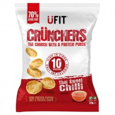 UFit Crunchers Thai Sweet Chilli 27g