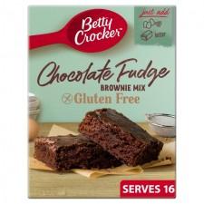 Betty Crocker Gluten Free Chocolate Fudge Brownie Mix 415g