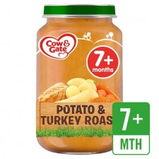 Cow And Gate 7 Months Potato and Turkey Roast 200G