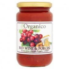 Organico Red Wine and Porcini Pasta Sauce 360g