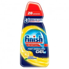 Finish All in 1 Max Fast Dissolving Gel Lemon Degreaser 700ml