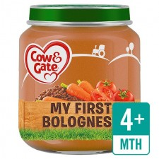 Cow And Gate 4 Months My First Bolognese 125G