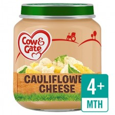 Cow And Gate 4 Months Baby Cauliflower Cheese 125G