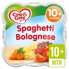 Cow And Gate 10 Months Spaghetti Bolognese 230G