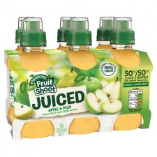 Robinsons Fruit Shoot Juiced Apple and Pear 6 x 200ml
