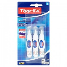 Tippex Mini Shake n Squeeze Correction Pens 3 x 4ml