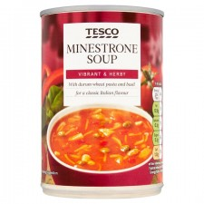 Tesco Minestrone Soup 400g
