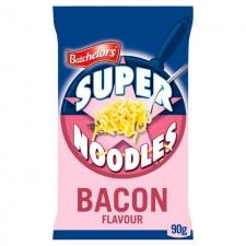 Retail Pack Batchelors Super Noodles Bacon Flavour 8x100g